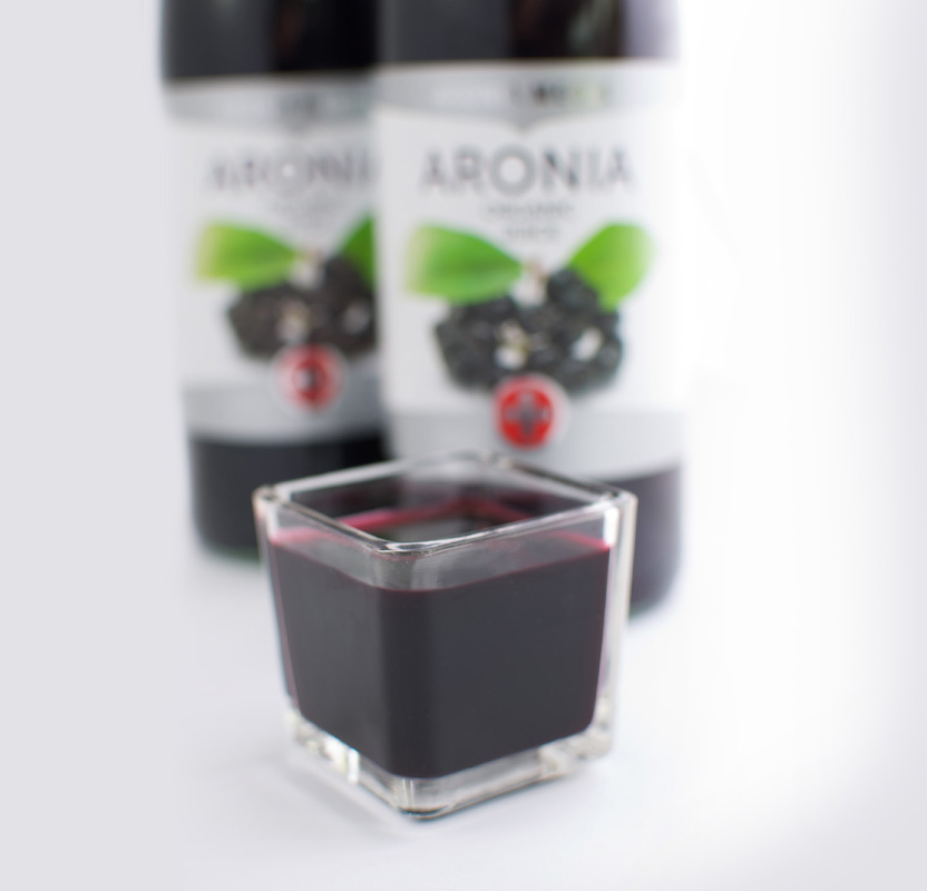 aronia juice, sok z aronii