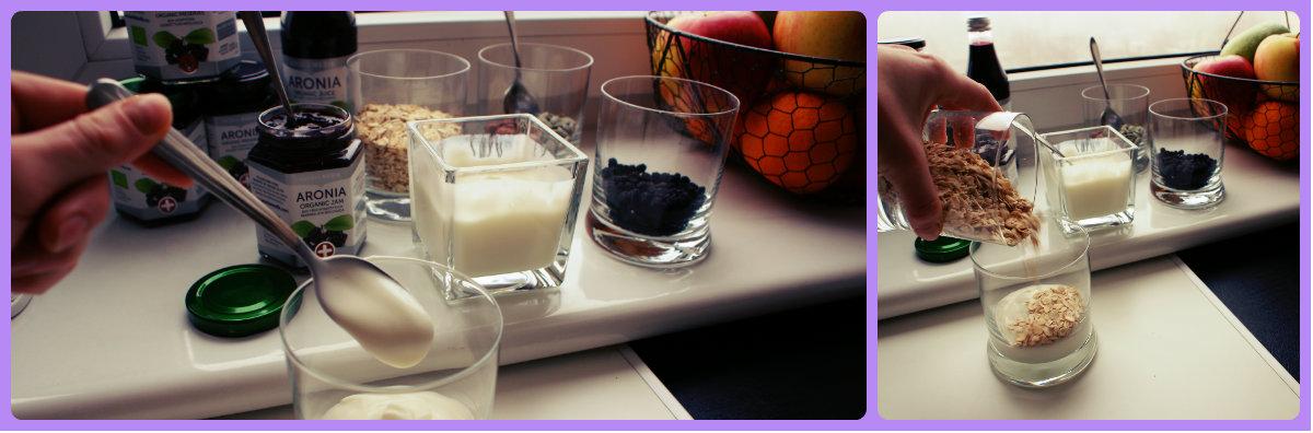jogurt z aronią