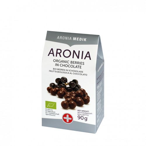 aronia berries in chocolate, aronia w czekoladzie